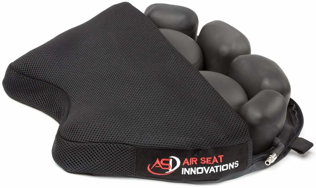 "Air Seat Innovations Air Motorcycle Seat Cushion Pressure Relief Pad Large for Cruiser Touring Saddles 15"" x 13.5"""