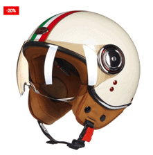 Scooter Helmet: Open Face Protective Gear